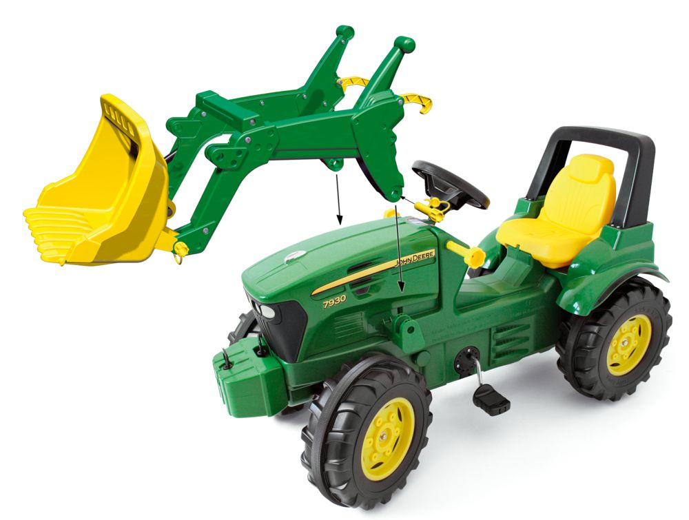 john deere rolly toys 710027 john deere 7930 rolly toys ab 3 jahren detailgetreuer kinder trettra. Black Bedroom Furniture Sets. Home Design Ideas