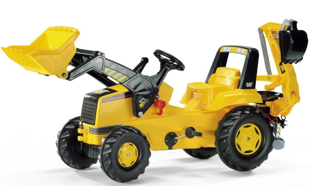 Frontlader Rolly Toys : Rolly toys  cat backhoe loader frontlader und