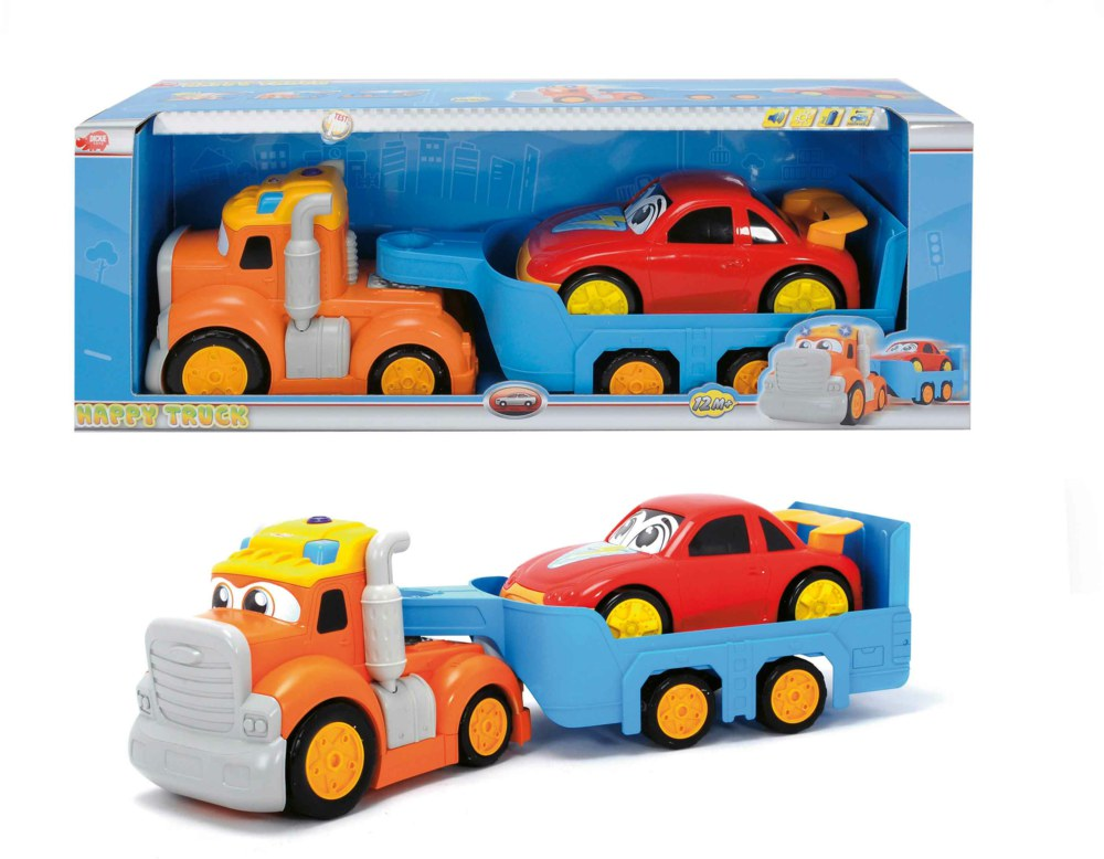 020-203315247 Happy Truck Dickie Toys, ab 1