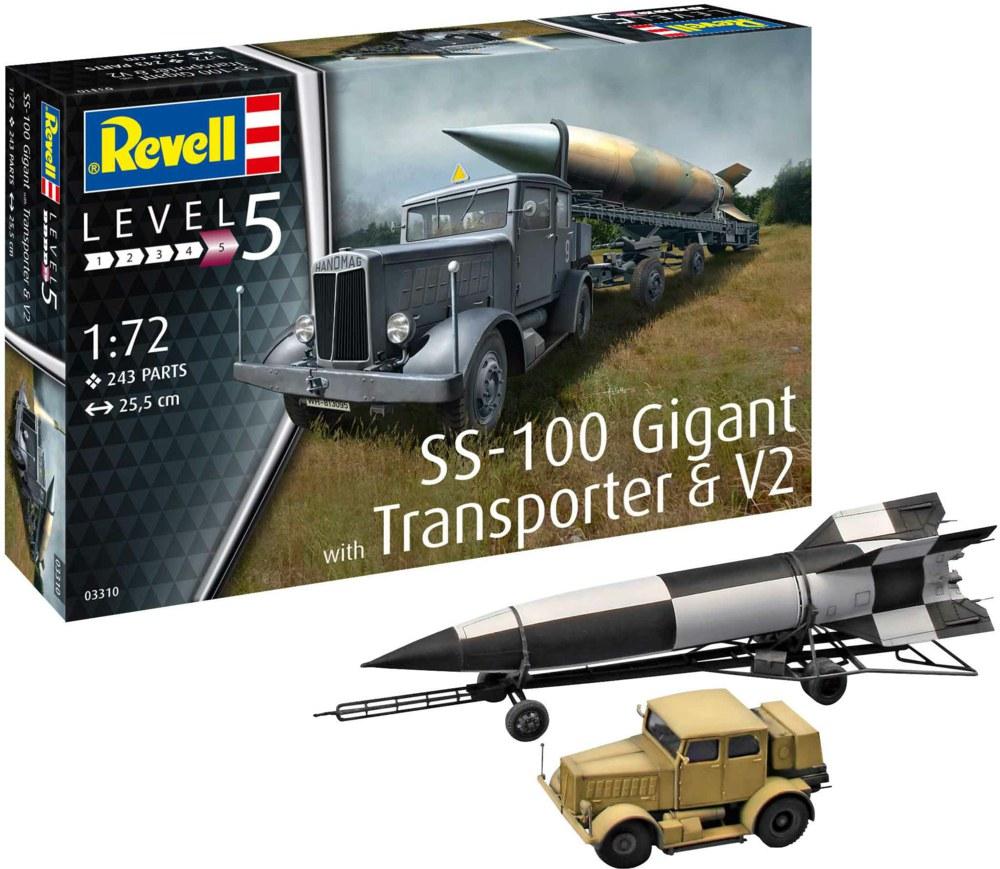 041-03310 Hanomag SS-100 mit Anhänger un