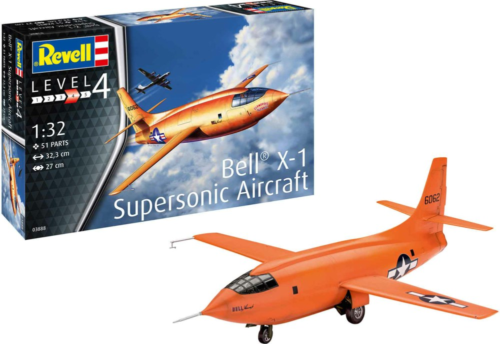 041-03888 Bell X-1 (1rst Supersonic)