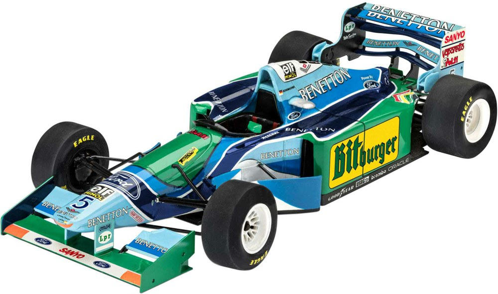 041-05689 Benetton Ford B194, 25. Jubilä