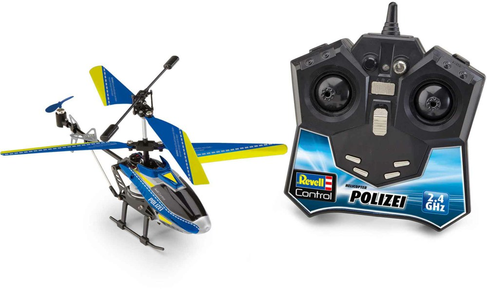 041-23827 RC Helicopter POLIZEI 2.4 GHz