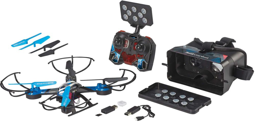 041-23908 RC-Quadcopter VR-SHOT