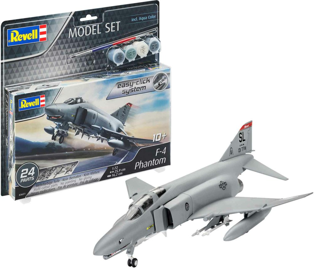 041-63651 Model Set F-4E Phantom