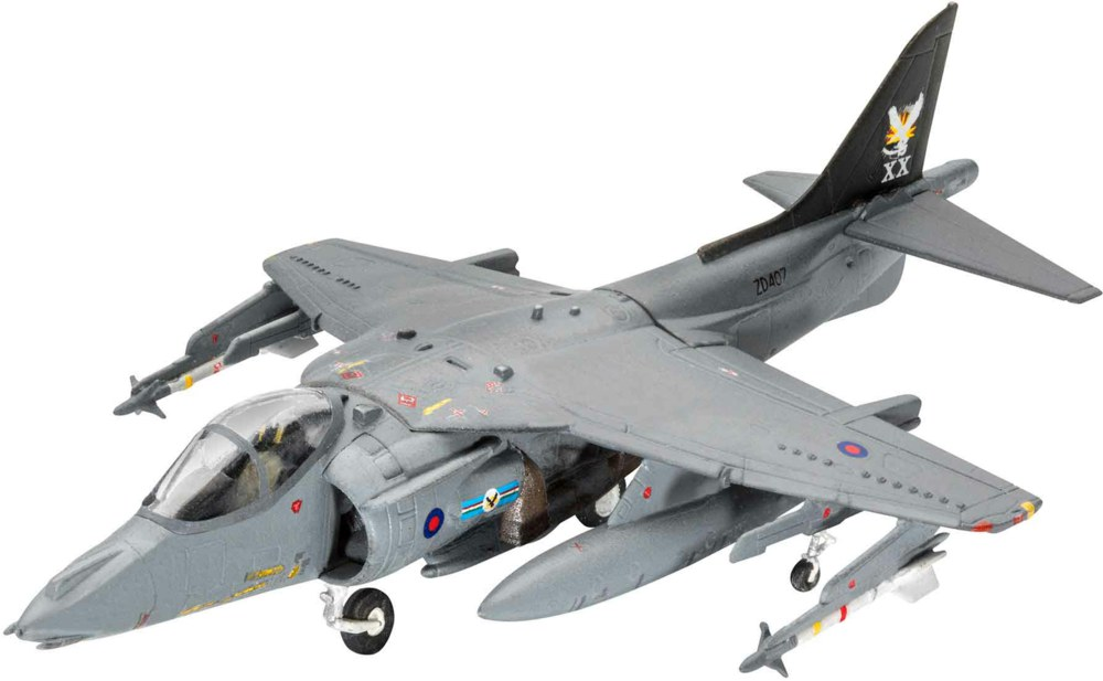 041-63887 Model Set Airforce Bae Harrier