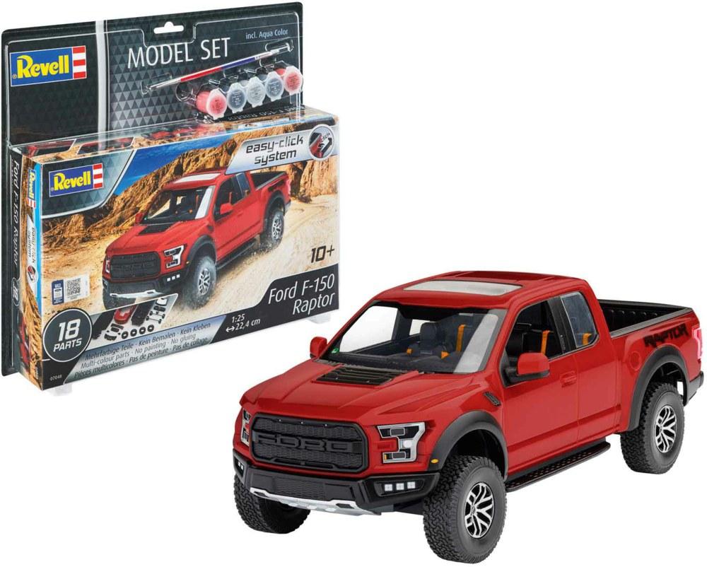 041-67048 Model Set Ford F-150 Raptor Re