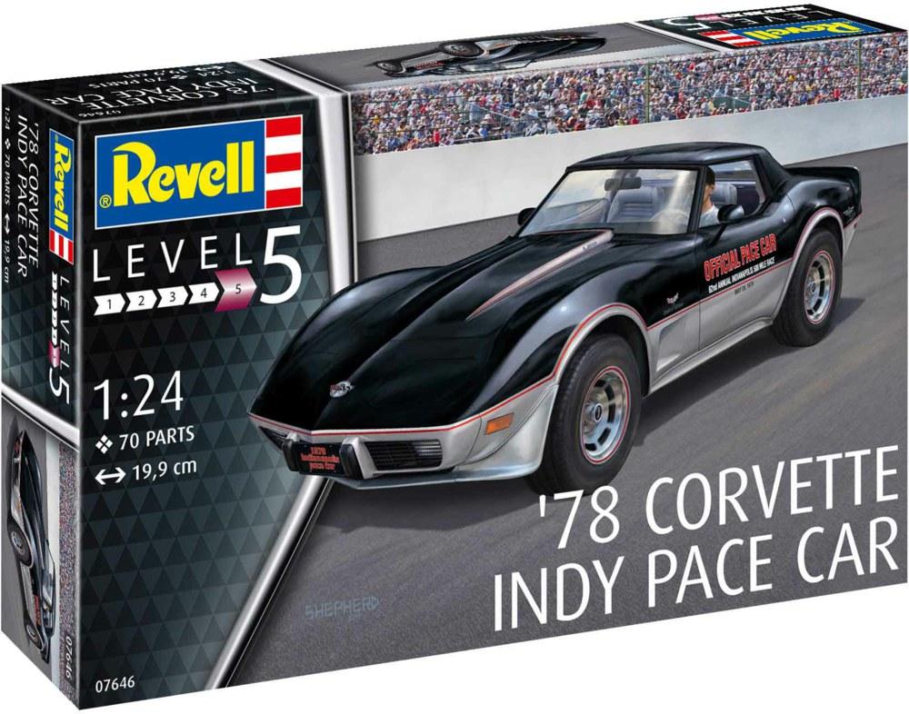 041-67646 Model Set '78 Corvette Indy Pa