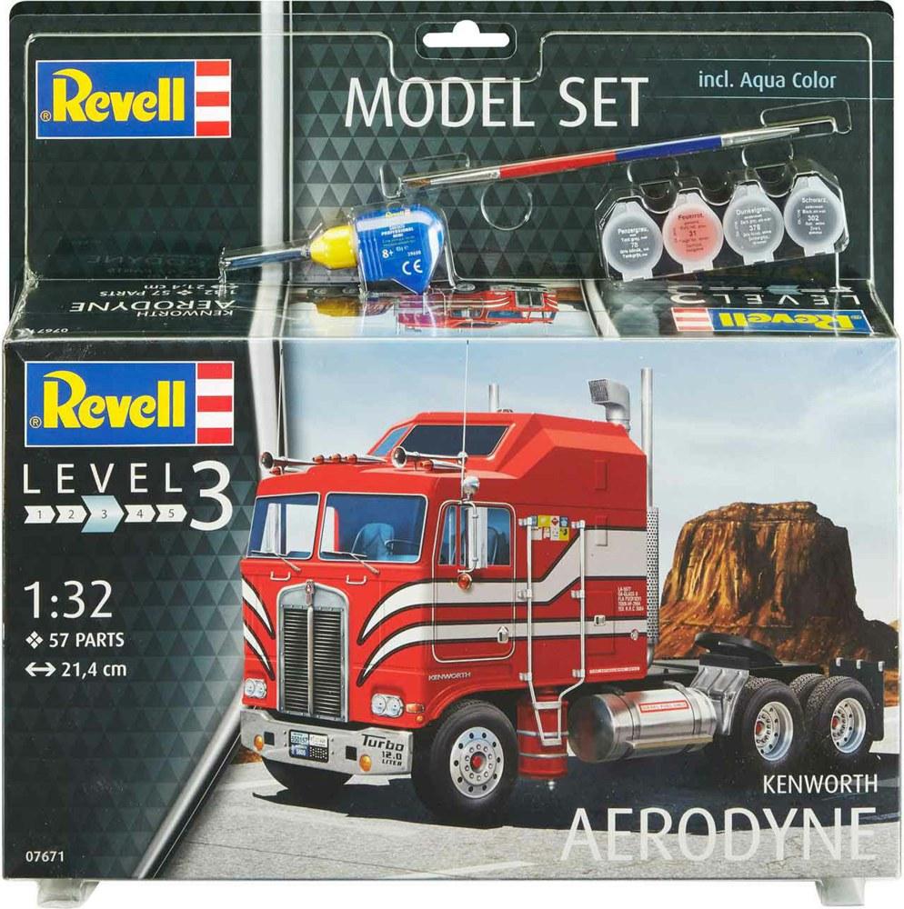 Revell 67671 4009803676715 Model Set Kenworth Aerodyne Revell ...