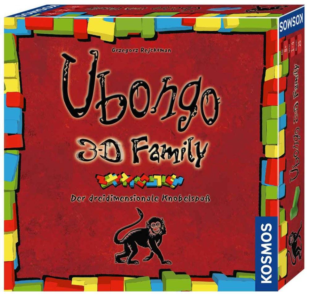 064-694258 Ubongo 3-D Family, Der dreidim