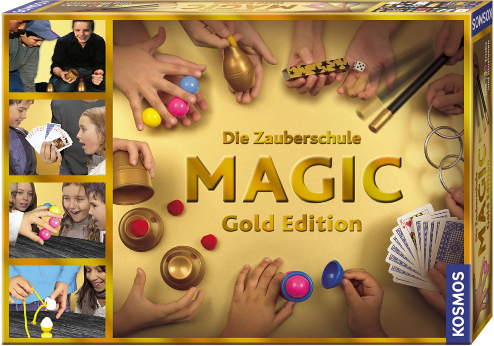 064-698232 Die Zauberschule Magic Gold Ed