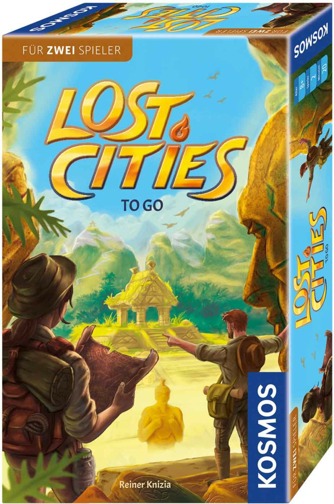064-711429 Lost Cities - Abenteuer To Go