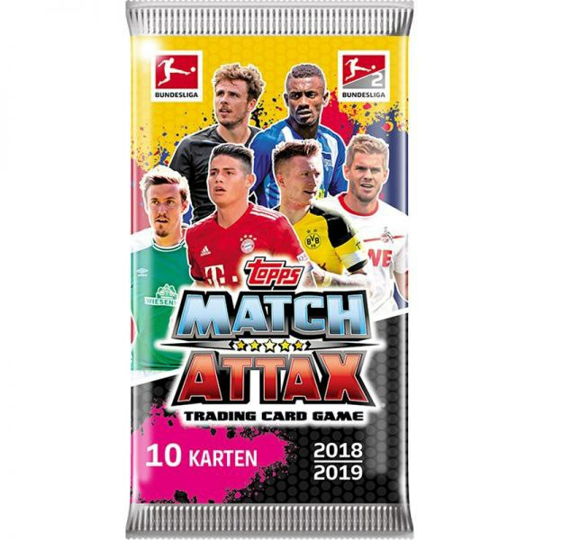 089-034587 Match Attax 2018/2019 Booster