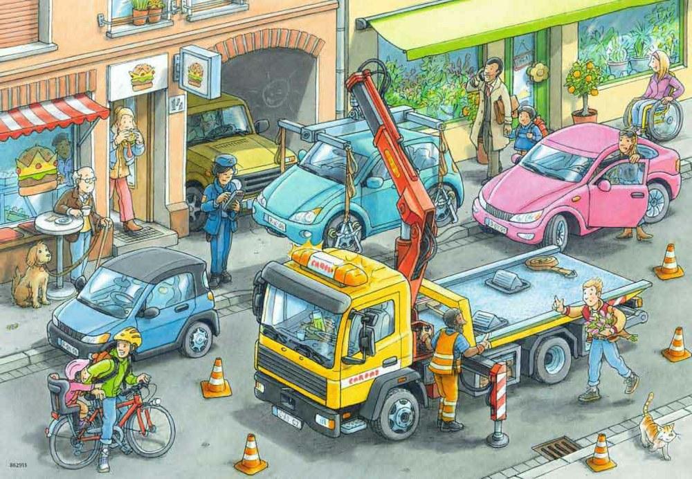 Ravensburger Kinderpuzzle Müllabfuhr