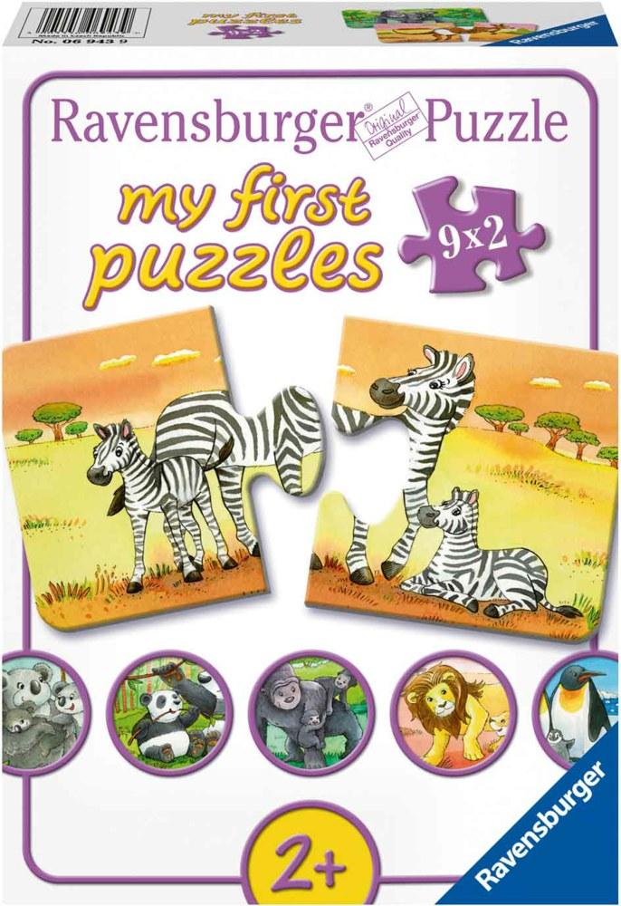 ravensburger 069439 4005556069439 s e tierfamilien ravensburger puzzle 2 teile puzzle ab 2 jahren. Black Bedroom Furniture Sets. Home Design Ideas