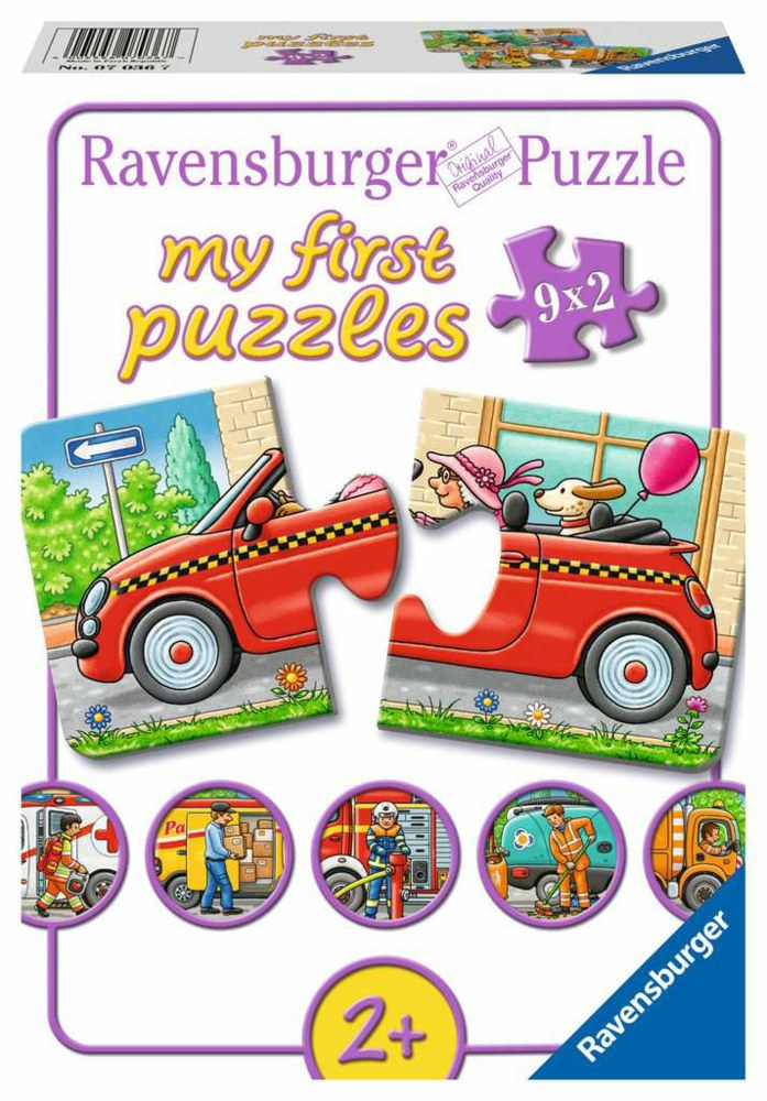 103-07036 My first Puzzles -Allerlei Fah