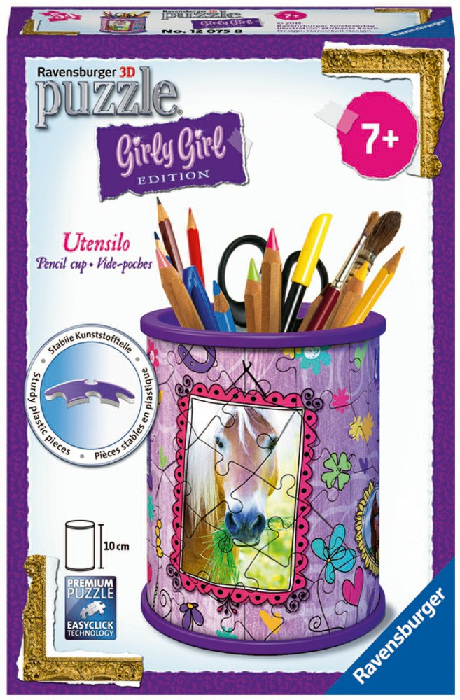 103-120758 Girly Girl: Utensilo - Pferde