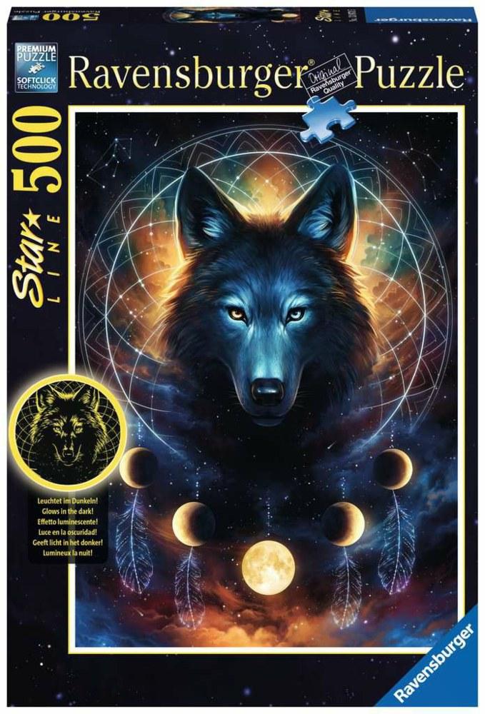 103-13970 Leuchtender Wolf - Star Line L