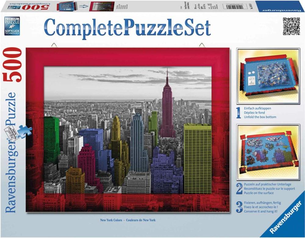 Ravensburger 148943 4005556148943 New York Colours Ravensburger 500 ...
