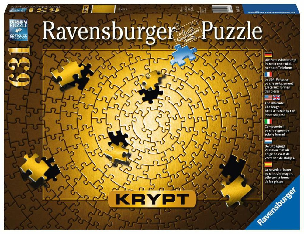 103-15152 Krypt Gold Ravenburger Puzzle,