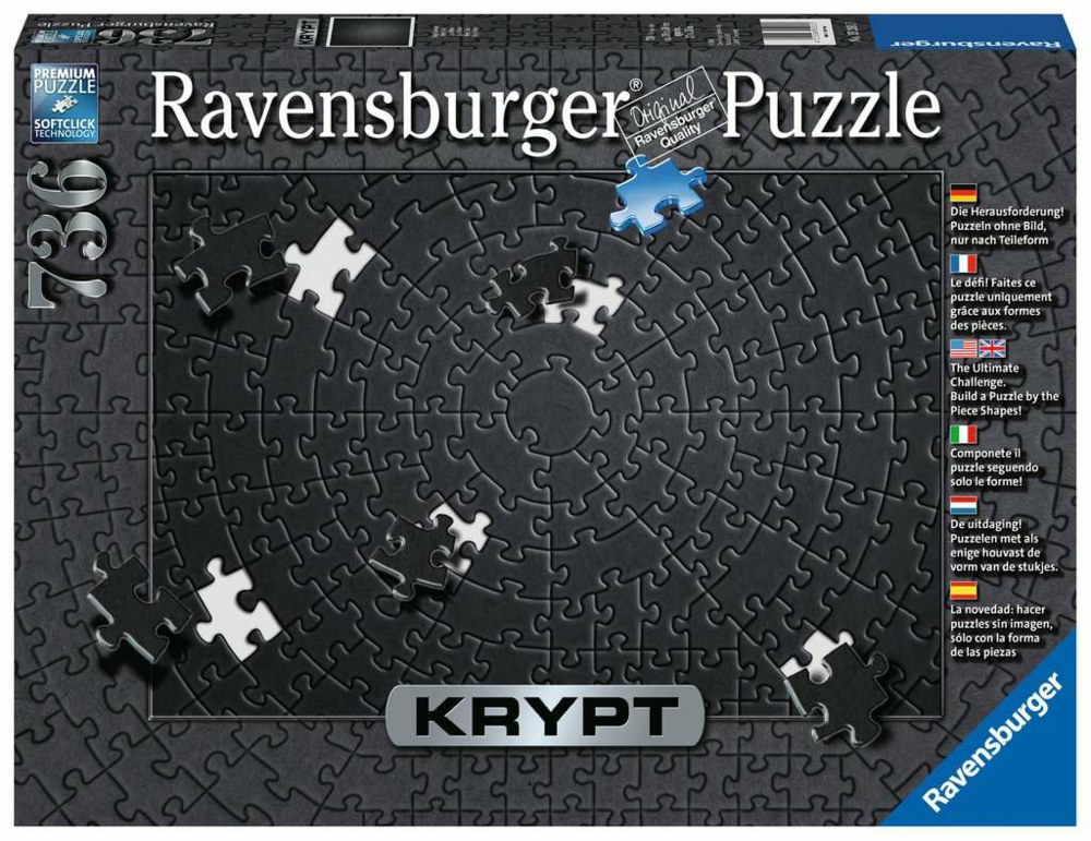 103-15260 Krypt Black  Ravensburger Puzz