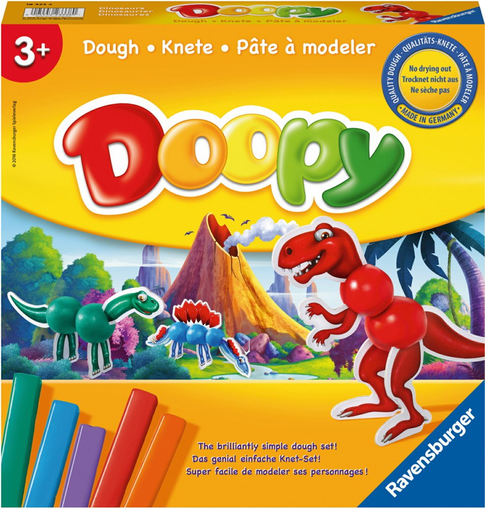 103-184224 Knetset Doopy: Dinosaurier Kne