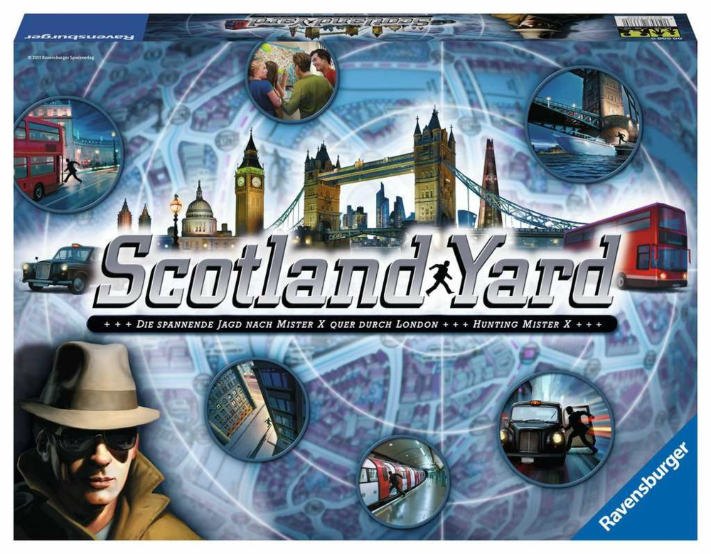103-26601 Scotland Yard Ravensburger Fam