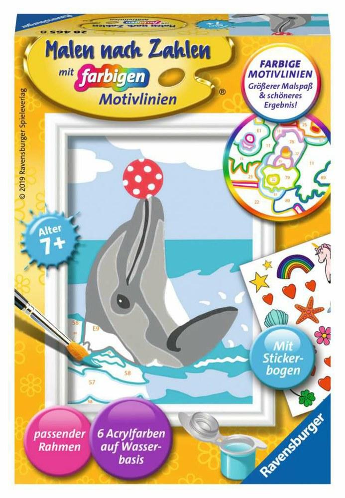 Ravensburger Verlag Malen Nach Zahlen 28465 4005556284658 Malen