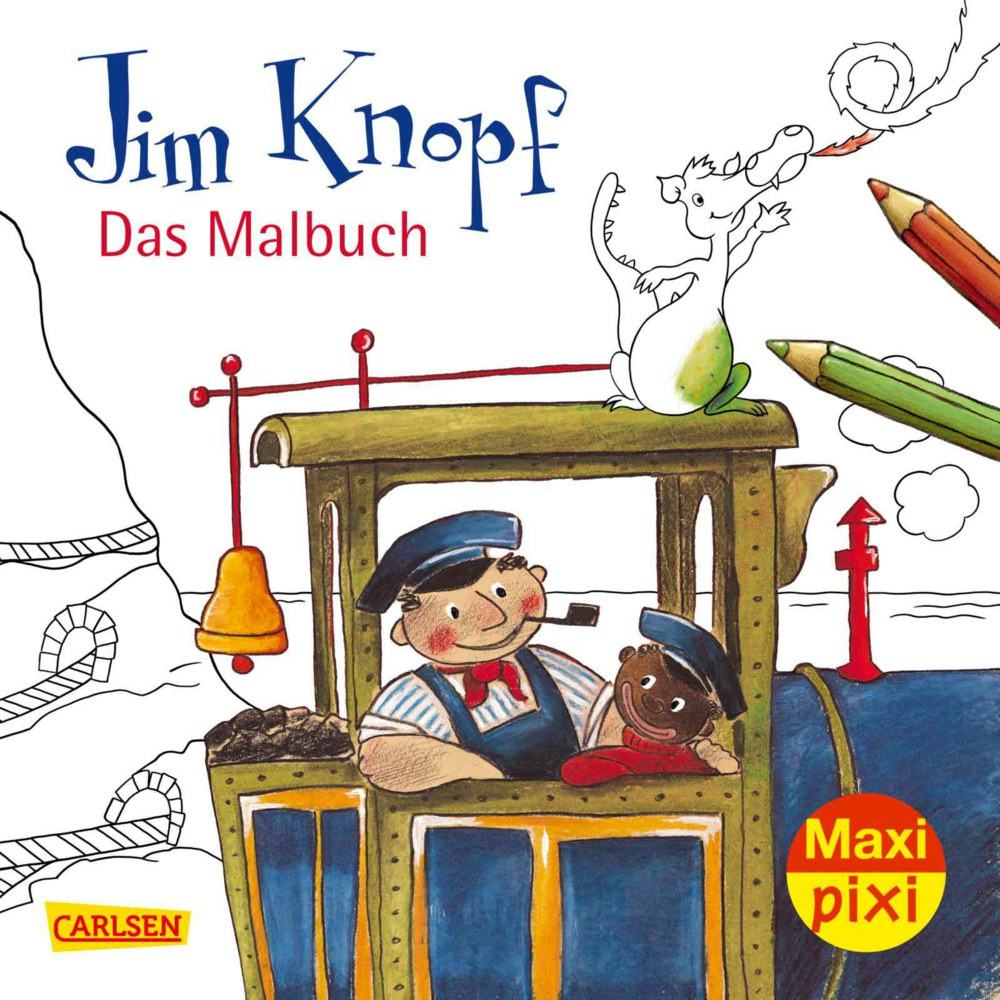 Carlsen Verlag Maxi Pixi 104966 9783551049667 Maxi Pixi 269 Jim Knopf Malbuch Carlsen Verlag Ab