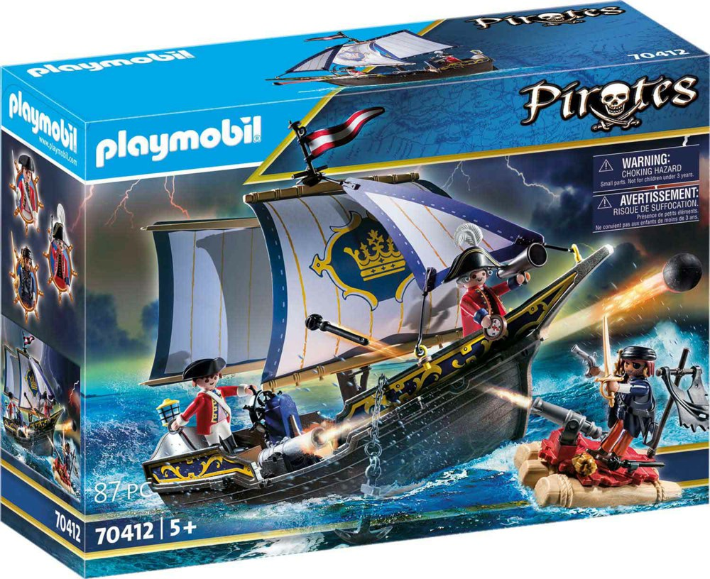 140-70412 Rotrocksegler PLAYMOBIL® Pirat