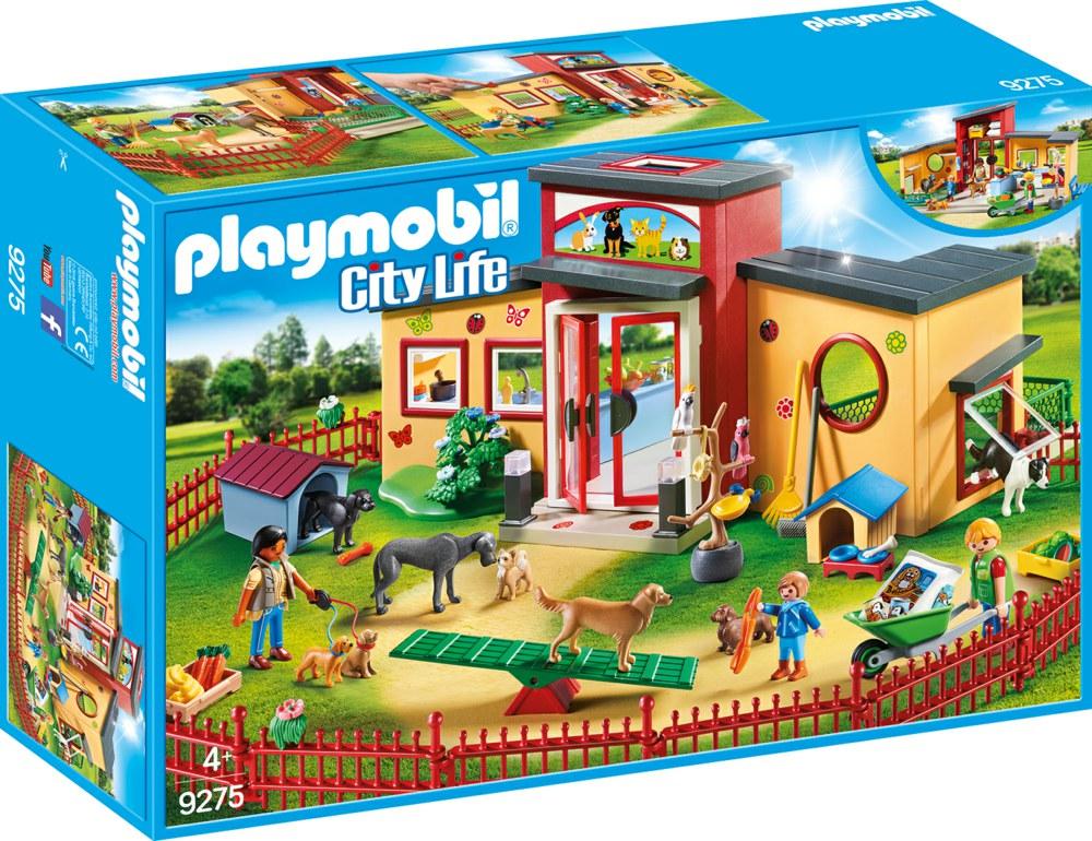 Playmobil playmobil city life 9275 4008789092755 tierhotel for Maison moderne playmobil 2018