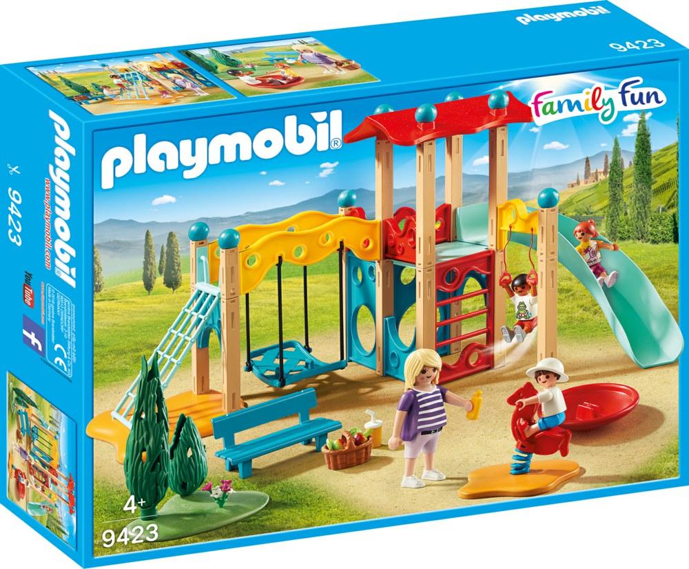 140-9423 Großer Spielplatz Turm mit Rut