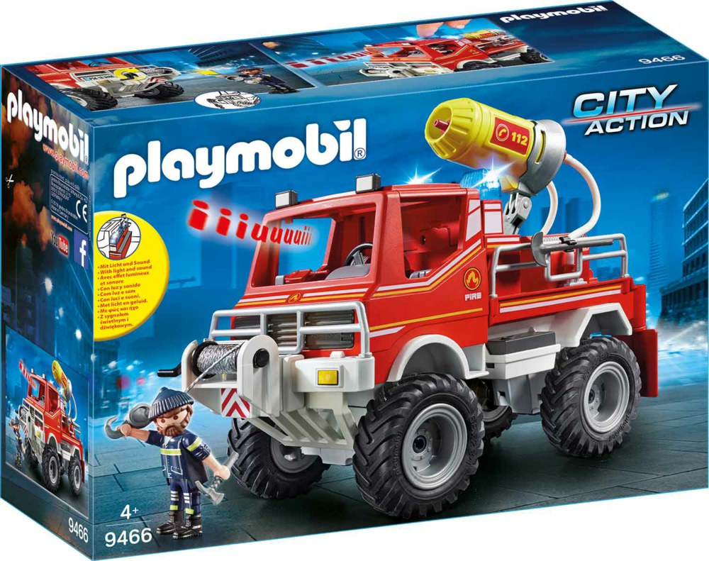 Playmobil playmobil city action  feuerwehr truck