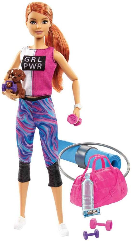 145-GJG570 Barbie Wellness Fitness Puppe