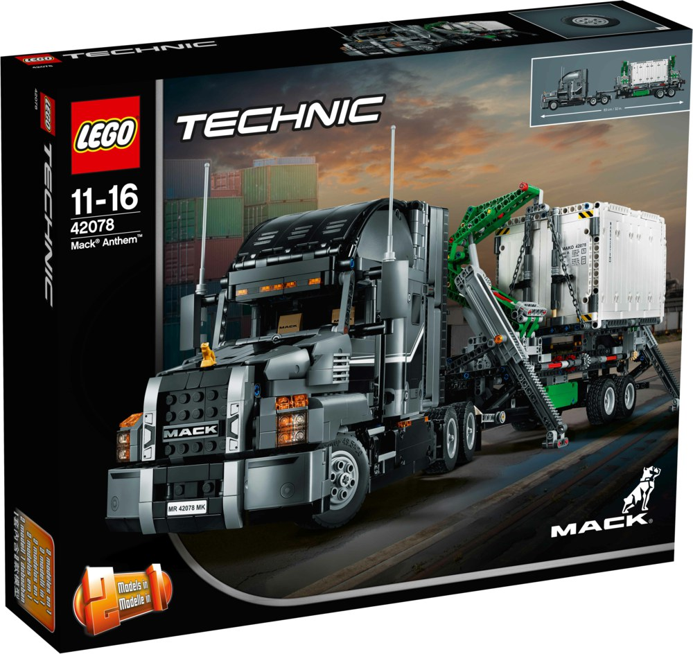 150-42078 LEGO Technic Mack Anthem