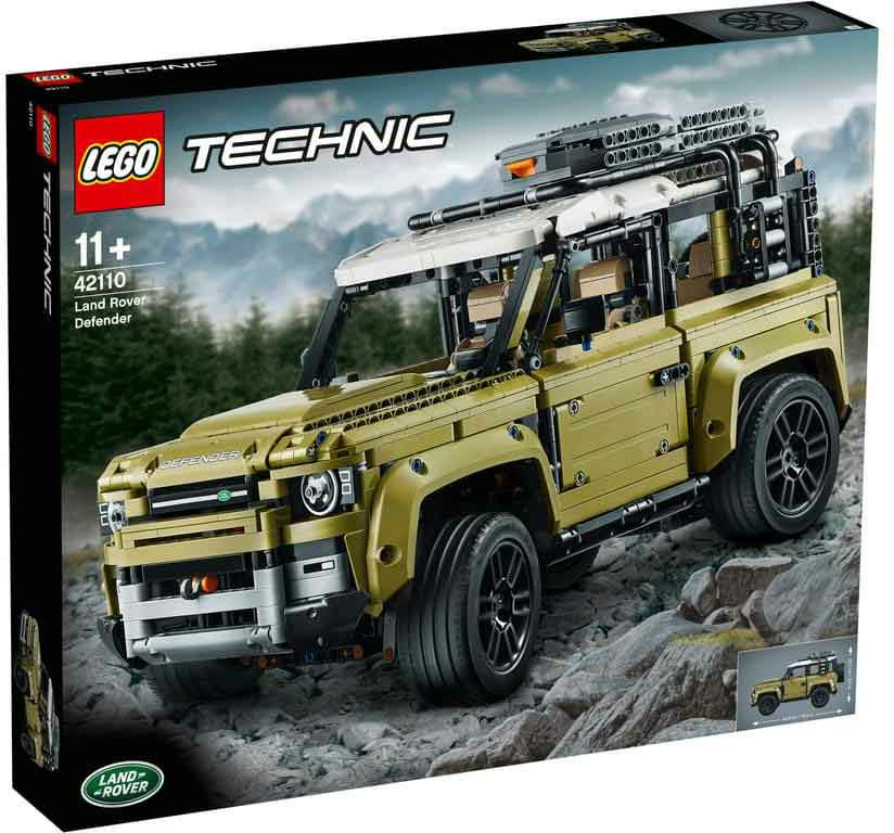 150-42110 Technic Land Rover Defender