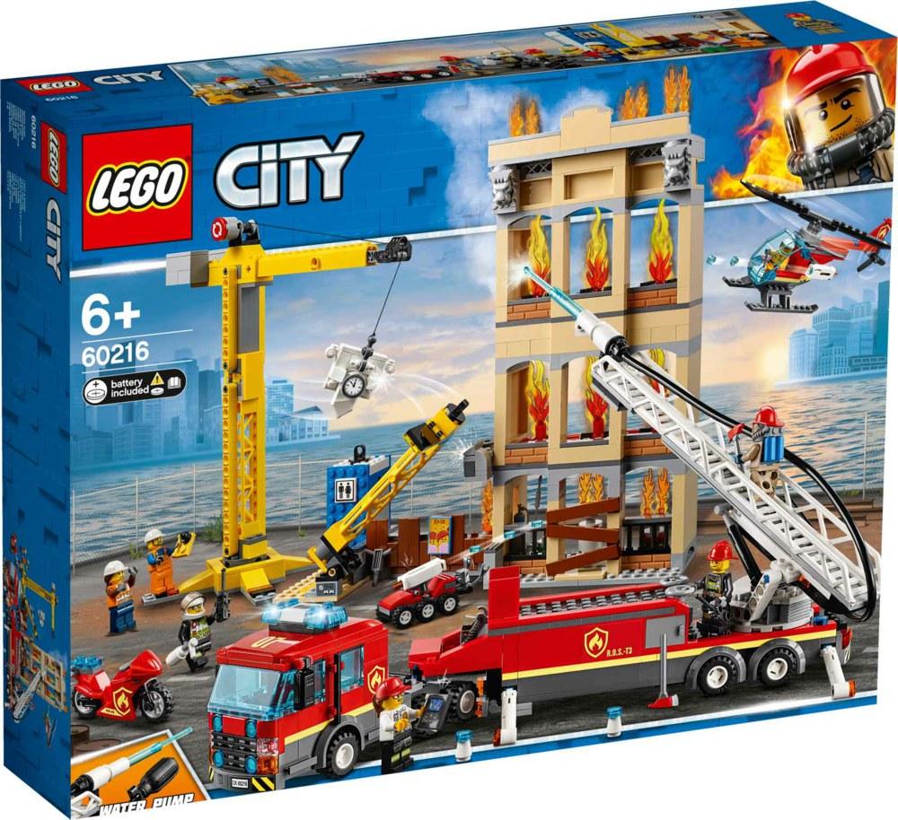 150-60216 Feuerwehr in der Stadt LEGO® C