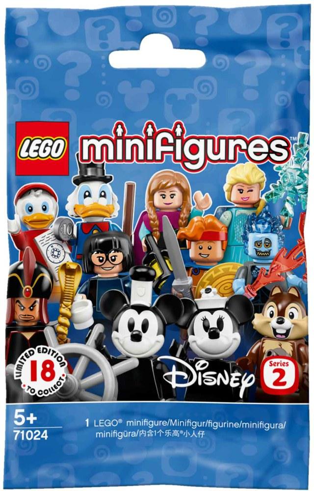 LEGO FIGURINE  MINIFIGURINE DISNEY SERIE 2 71024 N° 12 JASMINE LA PRINCESSE