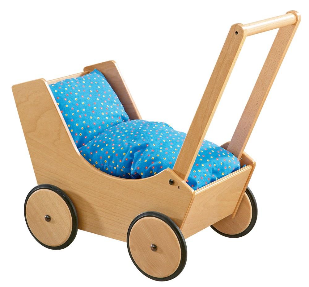 haba 1624 4010168016245 puppenwagen natur haba ab 1 jahr puppenwagen aus buchenholz. Black Bedroom Furniture Sets. Home Design Ideas
