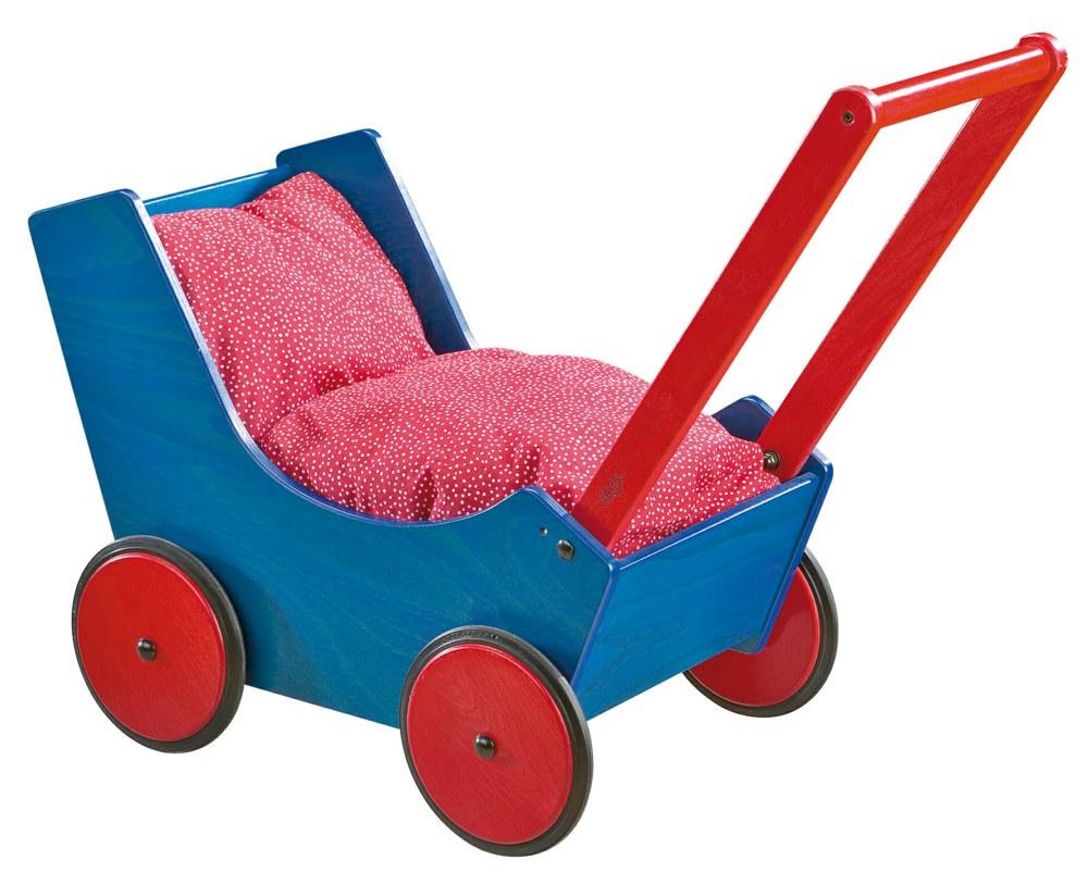 haba 1625 4010168016252 puppenwagen blau haba ab 1 jahr. Black Bedroom Furniture Sets. Home Design Ideas