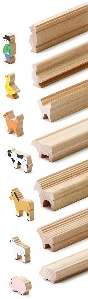 erzi 41262 4014722412627 bastelleisten bauern erzi kinderspiel aus holz zum. Black Bedroom Furniture Sets. Home Design Ideas