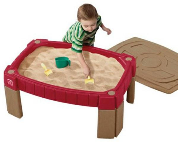 step2 759400 0733538759491 sandtisch mit deckel step2 sand wasser spieltisch wetterschutz. Black Bedroom Furniture Sets. Home Design Ideas