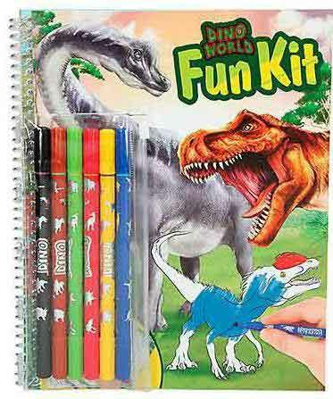 262-10626 Dino World Fun-Kit Depesche
