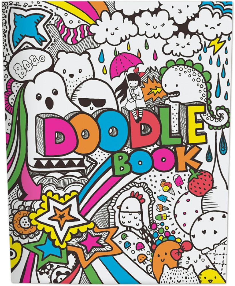 Depesche TOPModel 1944 4010070308551 Doodle Book, malen, kritzeln ...