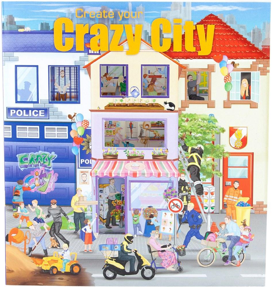 Depesche TOPModel 6519 4010070320683 Create your Crazy City Malbuch ...