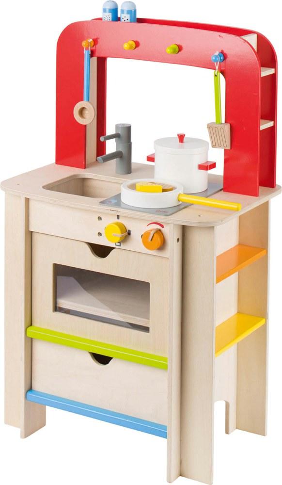 Goki 51682 4013594516822 Kinder Holz Pantry-Küche