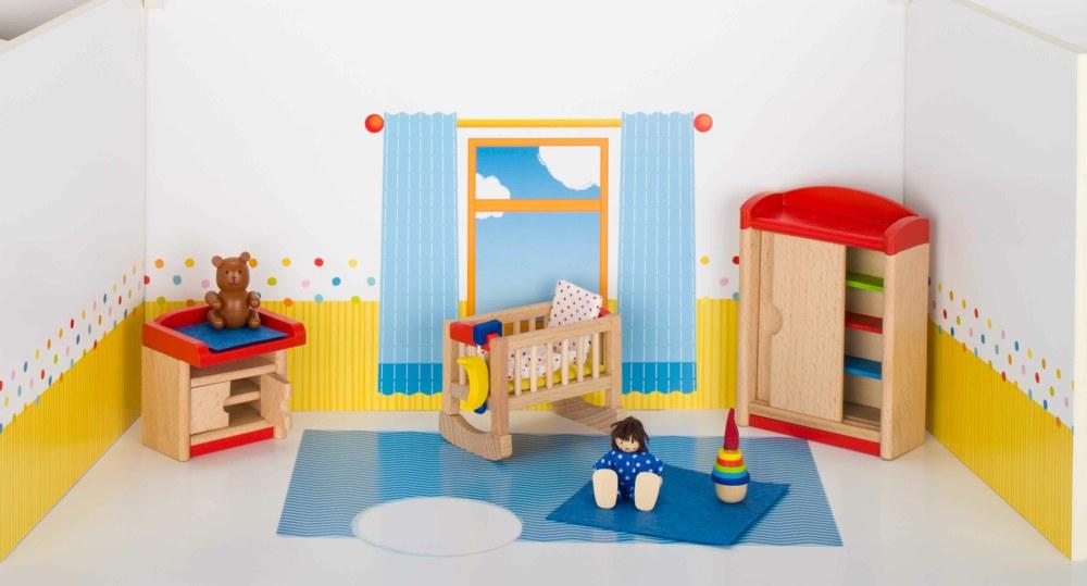Goki 51905 4013594519052 Puppenmöbel Kinderzimmer Goki ...