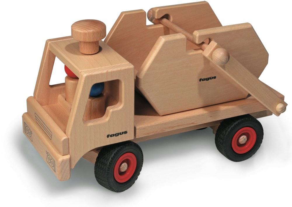fagus 1044 4039985010441 holz container lkw fagus ab 1 jahr kinder holzspielzeug. Black Bedroom Furniture Sets. Home Design Ideas