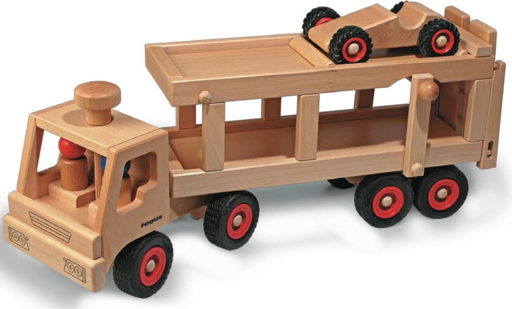 fagus 1049 4039985010496 holz autotransporter fagus ab 1 jahr kinder holzspielzeug. Black Bedroom Furniture Sets. Home Design Ideas