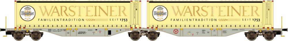 312-58959 Containertragwagen Sggmrss 90